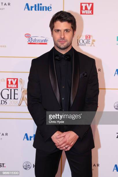 Ryan Johnson arrives at the 60th Annual Logie Awards at The Star Gold Coast on July 1 2018 in Gold Coast Australia