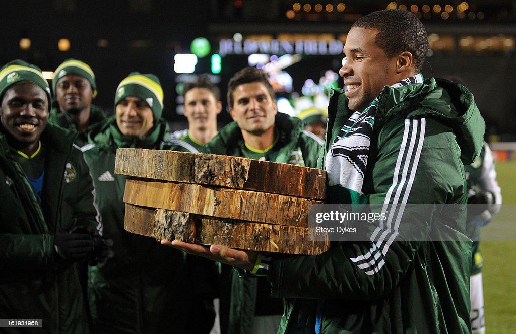 San Jose Earthquakes v Portland Timbers - Portland Timbers Tournament : News Photo