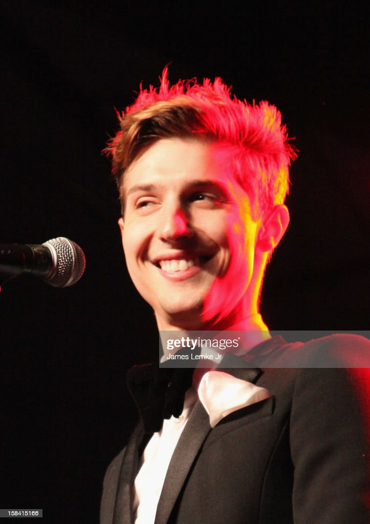 Ryan Keith Folles from Hot Chelle Rae attends the 3rd Annual Rock The Red Kettle Concert Benefitting The Salvation Army held at the Nokia Theatre L.A. Live on December 15, 2012 in Los Angeles, California.