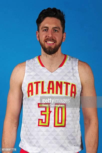 Ryan Kelly of the Atlanta Hawks poses for a portrait during 20162017 Atlanta Hawks Media Day at Phillips Arena on September 26 2016 in Atlanta...