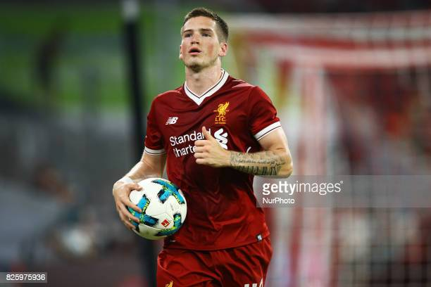 Ryan Kent of Liverpool during the Audi Cup 2017 match between Liverpool FC and Atletico Madrid at Allianz Arena on August 2 2017 in Munich Germany