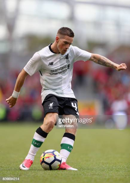 Ryan Kent of Liverpool in action during the Pre Season Friendly match between Liverpool and Athletic Club at Aviva Stadium on August 5 2017 in Dublin...