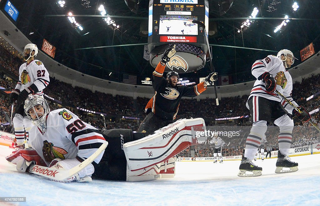 Chicago Blackhawks v Anaheim Ducks - Game Five