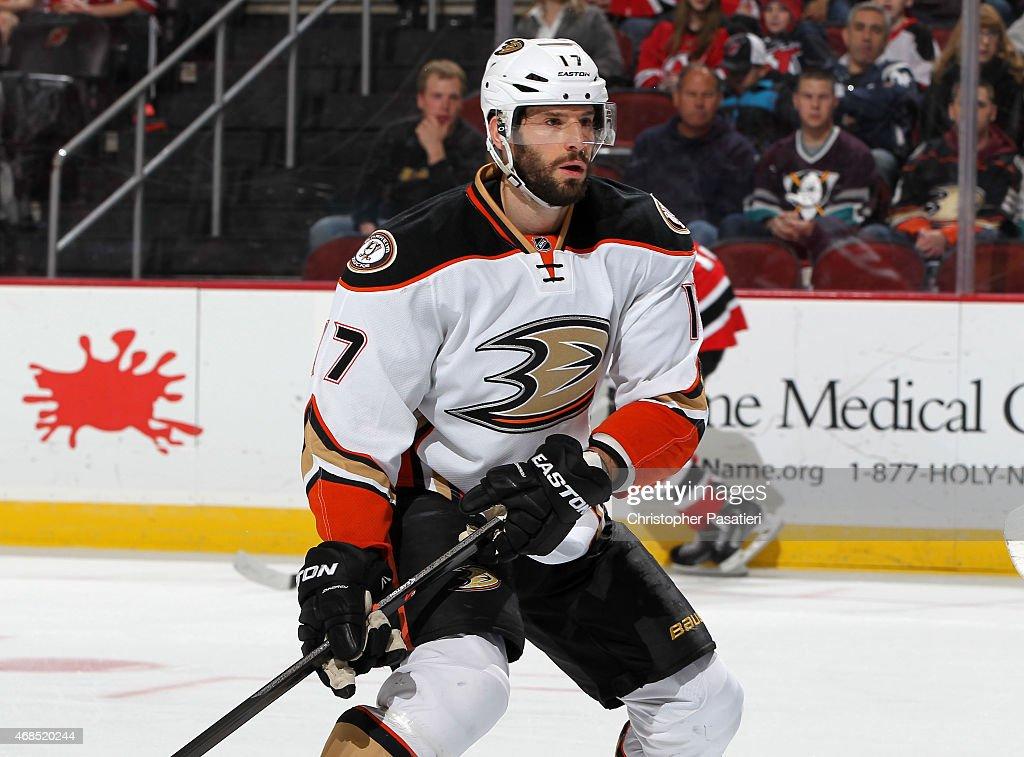 Anaheim Ducks v New Jersey Devils : News Photo