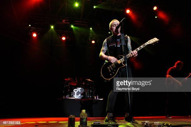 Ryan Key from Jacksonville Florida alternative rock band Yellowcard performs on the US Cellular Connection Stage at the Henry W Maier Festival Park...