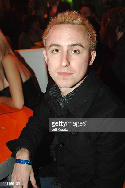 Ryan Key of Yellowcard during VH1 Big in '05 After Party in Los Angeles California United States