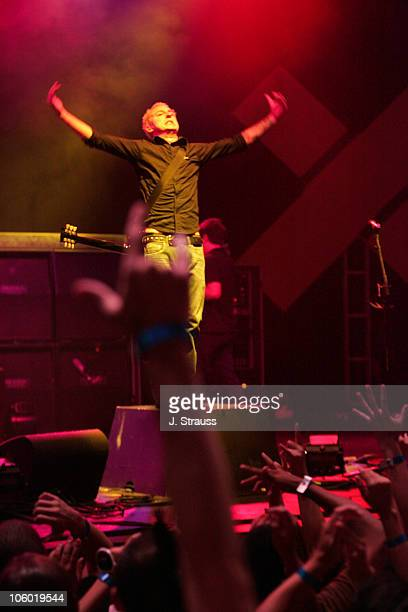 Ryan Key of Yellowcard during Yellowcard Performs Live at the Wiltern August 3 2006 at The Wiltern Theater in Los Angeles California United States