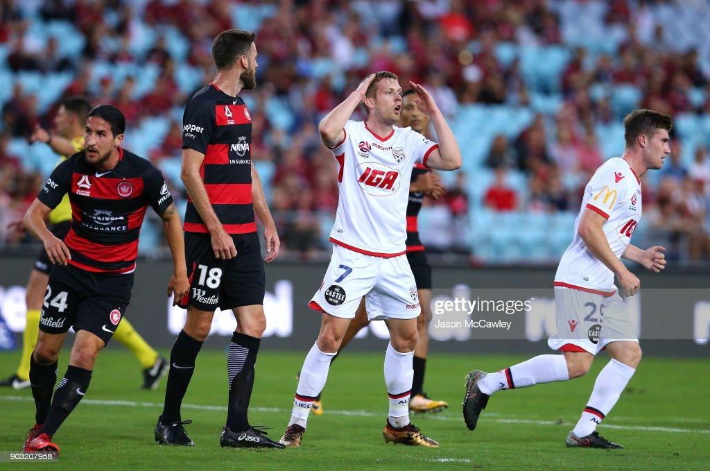 A-League Rd 15 - Western Sydney v Adelaide