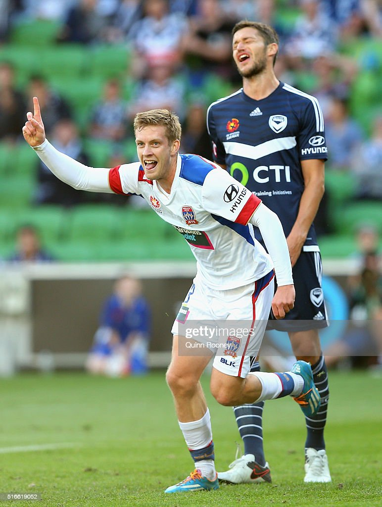 A-League Rd 24 - Melbourne v Newcastle