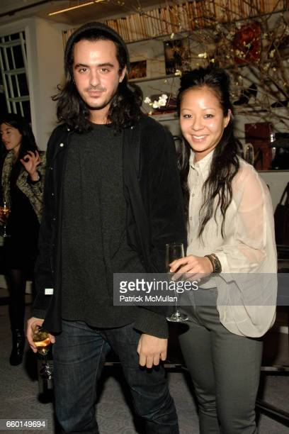 Ryan Korban and Davinia Wang attend HUNTING SEASON at EDON MANOR Hosted by Kathryn Neale Shaffer and Alexandra Fritz at Edon Manor on January 29 2009...