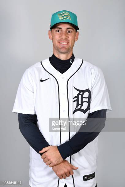 Ryan Kreidler of the Salt Rive Rafters poses for a headshot during the 2021 Arizona Fall League Headshots at Salt River Fields at Talking Stick on...