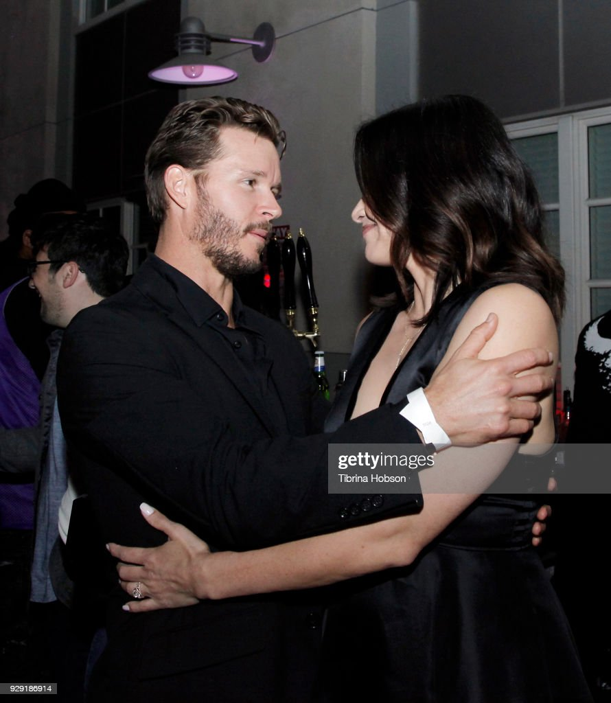 Ryan Kwanten and Katrina Law attend the premiere of Crackle's 'The Oath' after party at Sony Pictures Studios on March 7, 2018 in Culver City, California.