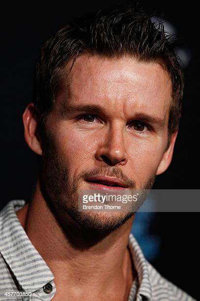 Ryan Kwanten arrives at the Oakley Future Sport Project event on October 23 2014 in Sydney Australia
