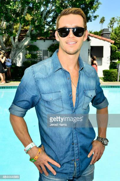 Ryan Kwanten attends the GUESS Hotel at the Viceroy Palm Springs on April 12 2014 in Palm Springs California