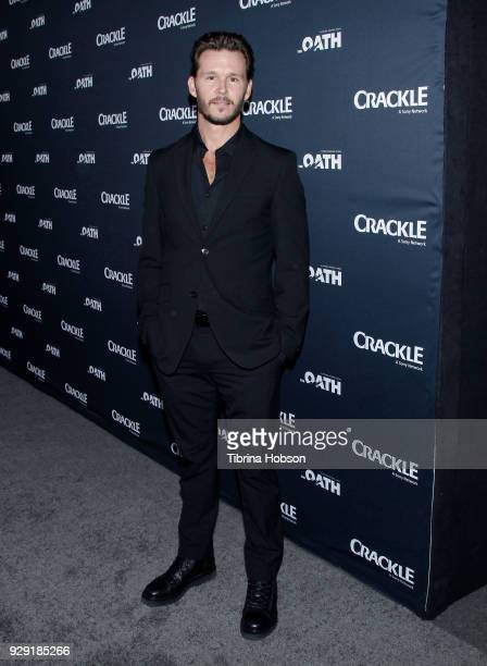 Ryan Kwanten attends the premiere of Crackle's 'The Oath' at Sony Pictures Studios on March 7 2018 in Culver City California