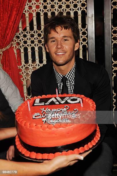 Ryan Kwanten celebrates his birthday at Lavo nightclub at The Palazzo on November 28 2009 in Las Vegas Nevada