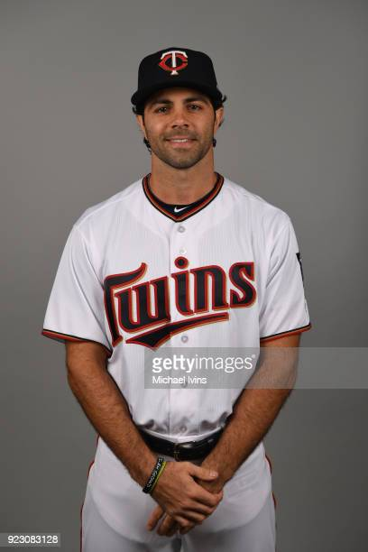 Ryan LaMarre of the Minnesota Twins poses during Photo Day on Wednesday February 21 2018 at CenturyLink Sports Complex in Fort Myers Florida