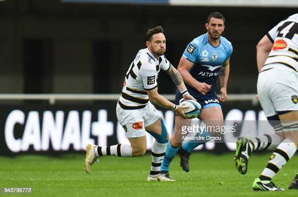 Ryan Lamb of La Rochelle during the French Top 14 match between Montpellier and La Rochelle at Altrad Stadium on April 8 2018 in Montpellier France