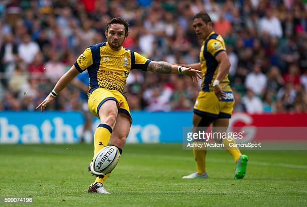 Ryan Lamb of Worcester Warriors during the Aviva Premiership match between Saracens and Worcester Warriors at Twickenham Stadium on September 3 2016...