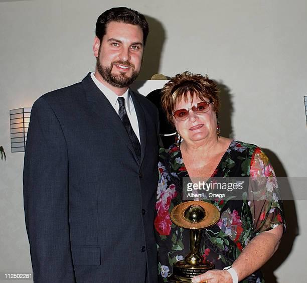 Ryan Leibowitz and Sharon Leibowitz reciepients of Service Award for Bill Leibowitz owner of Golden Apple Comics