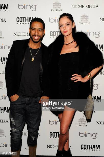 Ryan Leslie and Nicole Trunfio attend ALICIA KEYS Hosts GOTHAM MAGAZINES Annual Gala Presented by BING at Capitale on March 15 2010 in New York City
