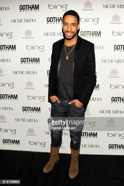 Ryan Leslie attends ALICIA KEYS Hosts GOTHAM MAGAZINES Annual Gala Presented by BING at Capitale on March 15 2010 in New York City