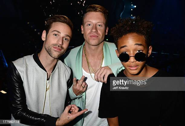 Ryan Lewis Macklemore and Jaden Smith attend the 2013 MTV Video Music Awards at the Barclays Center on August 25 2013 in the Brooklyn borough of New...