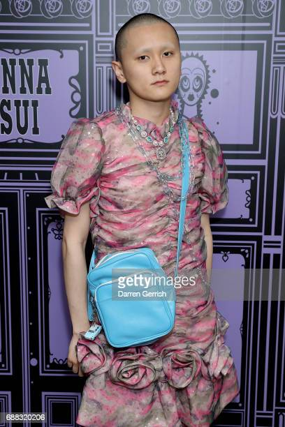Ryan Lo attends the World of Anna Sui Exhibition : Private View at the Fashion and Textile Museum on May 25, 2017 in London, England.