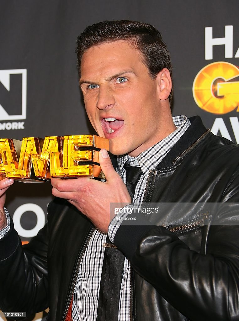 Ryan Lochte attends the Cartoon Network 3rd Annual Hall of Game Awards at Barker Hangar on February 9, 2013 in Santa Monica, California.