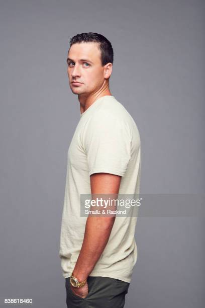 Ryan Lochte of National Geographic Channels 'Sharkfest' poses for a portrait during the 2017 Summer Television Critics Association Press Tour at The...