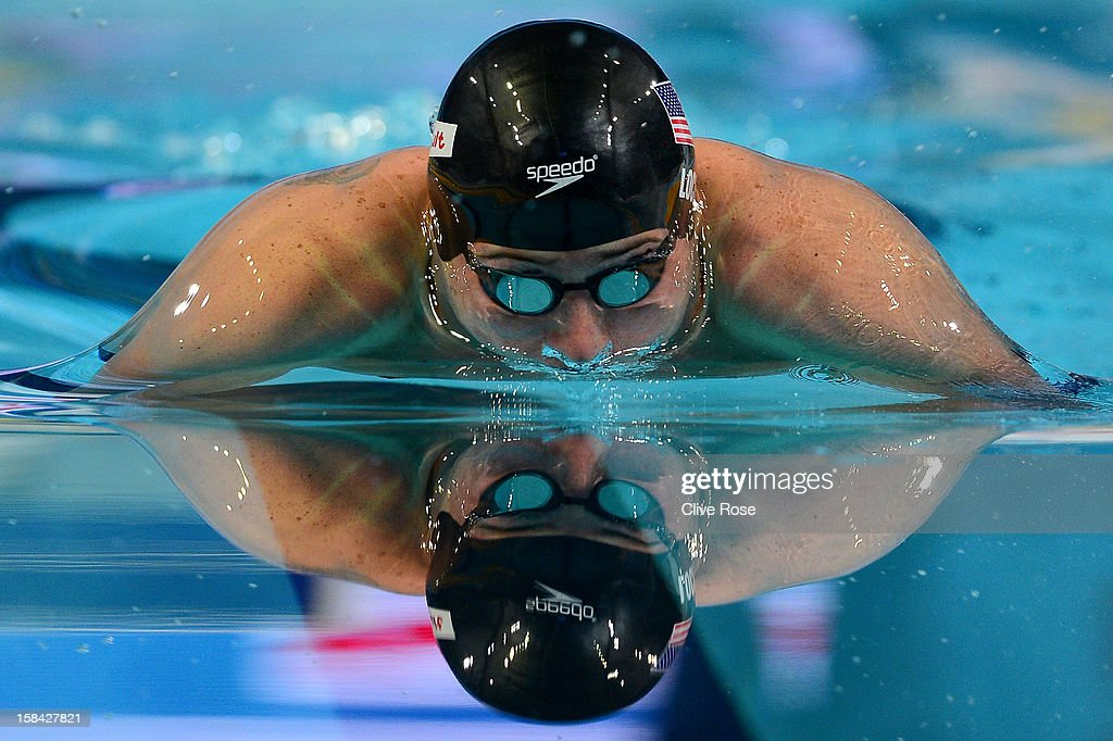 Ryan Lochte of USA competes in the Men's 100m Individual Medley Final during day five of the 11th FINA Short Course World Championships at the Sinan Erdem Dome on December 16, 2012 in Istanbul, Turkey.