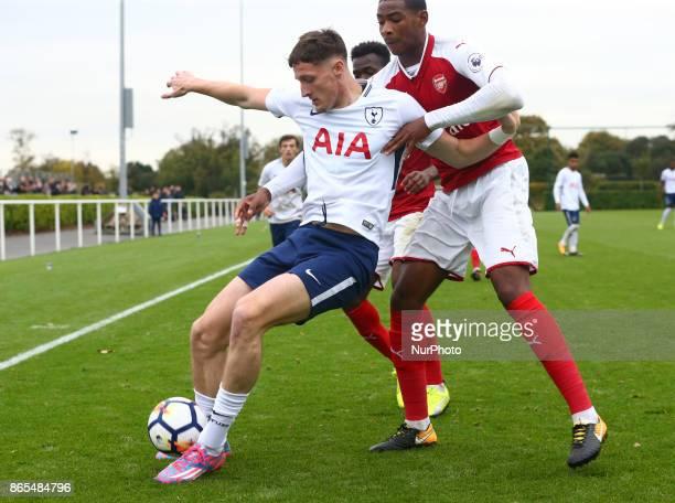 Ryan Loft of Spurs during Premier League 2 Div 1 match between Tottenham Hotspur Under 23s against Arsenal Under 23s at Tottenham Hotspur Training...