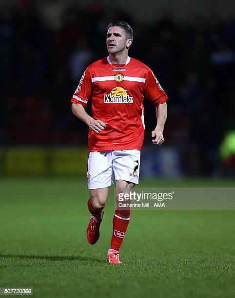 Ryan Lowe of Crewe Alexandra during the Sky Bet League One match between Crewe Alexandra and Shrewsbury Town at The Alexandra Stadium on December 28...