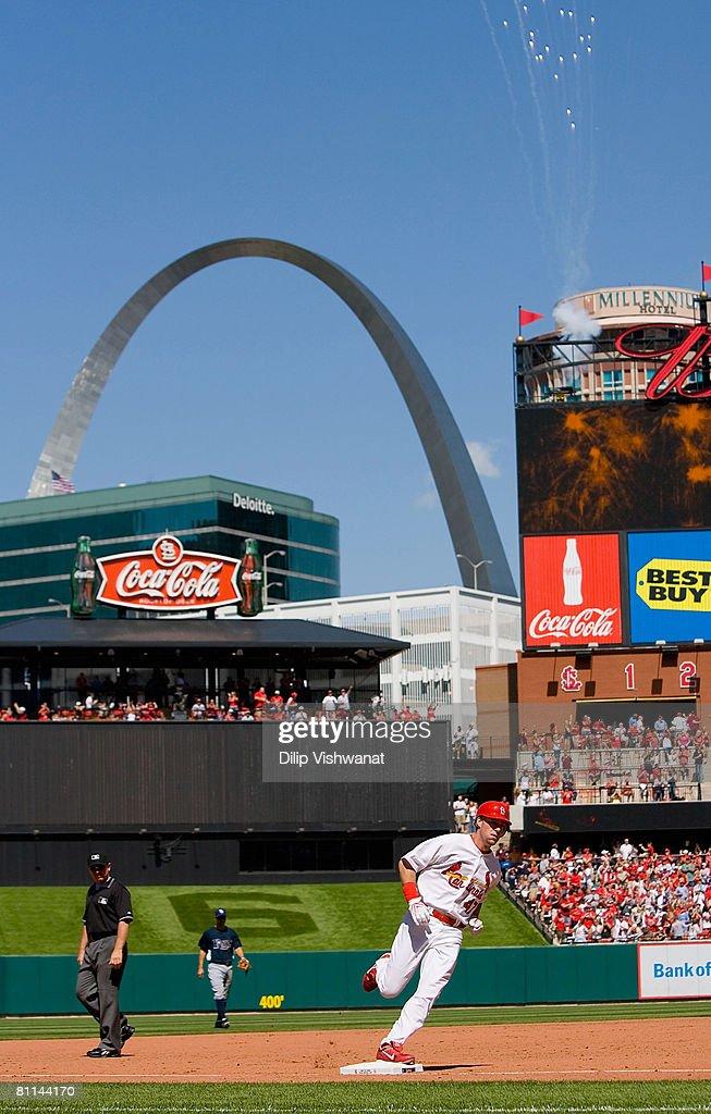Tampa Bay Rays v St. Louis Cardinals : News Photo