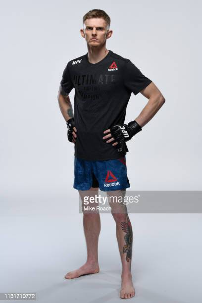 Ryan MacDonald poses for a portrait during a UFC photo session on March 20, 2019 in Nashville, Tennessee.