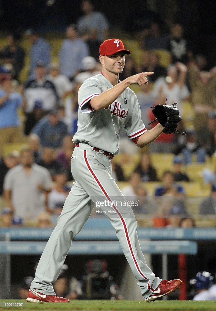 Philadelphia Phillies v Los Angeles Dodgers : News Photo