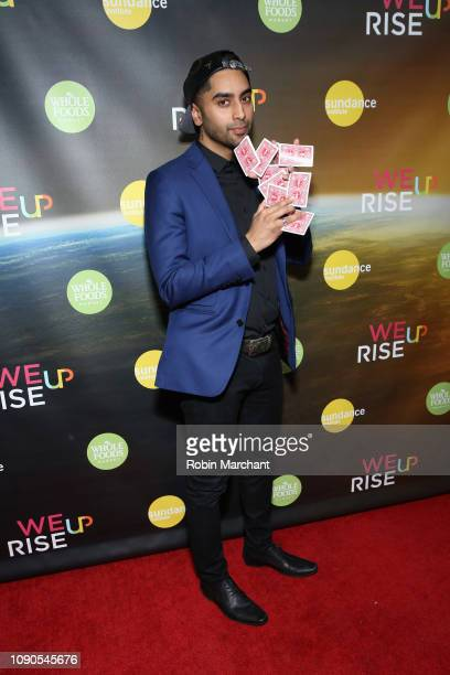 Ryan Magic attends the WeRiseUP Launch Event With Kevin Bacon during the 2019 Sundance Film Festival at TAO Nightclub on January 27 2019 in Park City...
