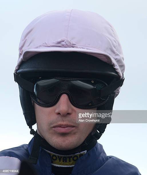 Ryan Maia poses at Wetherby racecourse on Novemeber 01, 2014 in Wetherby, England.