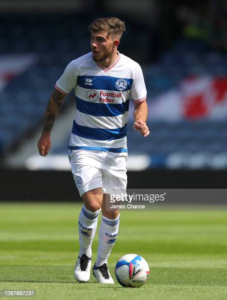 Ryan Manning of Queens Park Rangers runs with the ball during the PreSeason Friendly between Queens Park Rangers and AFC Wimbledon at The Kiyan...