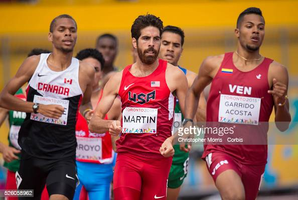 Ryan Martin, of the USA, during athletics competition at the