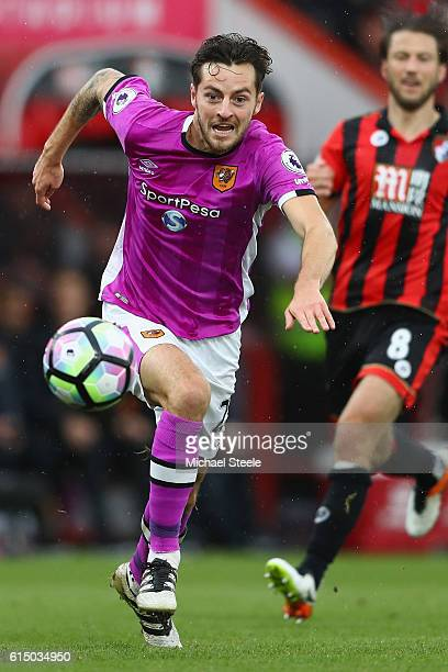 Ryan Mason of Hull City during the Premier League match between AFC Bournemouth and Hull City at Vitality Stadium on October 15 2016 in Bournemouth...