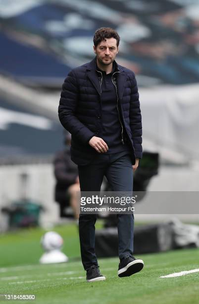 Ryan Mason, Tottenham Hotspur interim manager during the Premier League match between Tottenham Hotspur and Wolverhampton Wanderers at Tottenham...