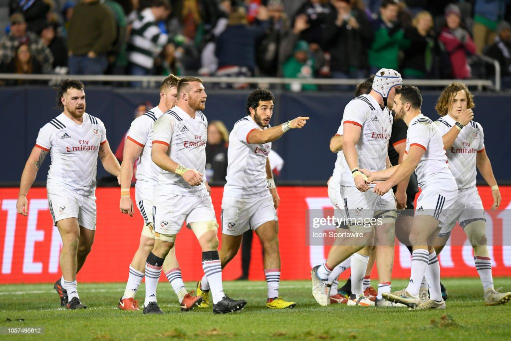 RUGBY: NOV 03 USA v New Zealand : News Photo