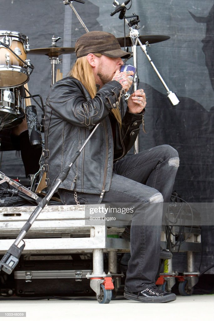 Ryan McCombs of Drowning Pool performs during the 2010 Rock On The Range festival at Crew Stadium on May 22, 2010 in Columbus, Ohio.
