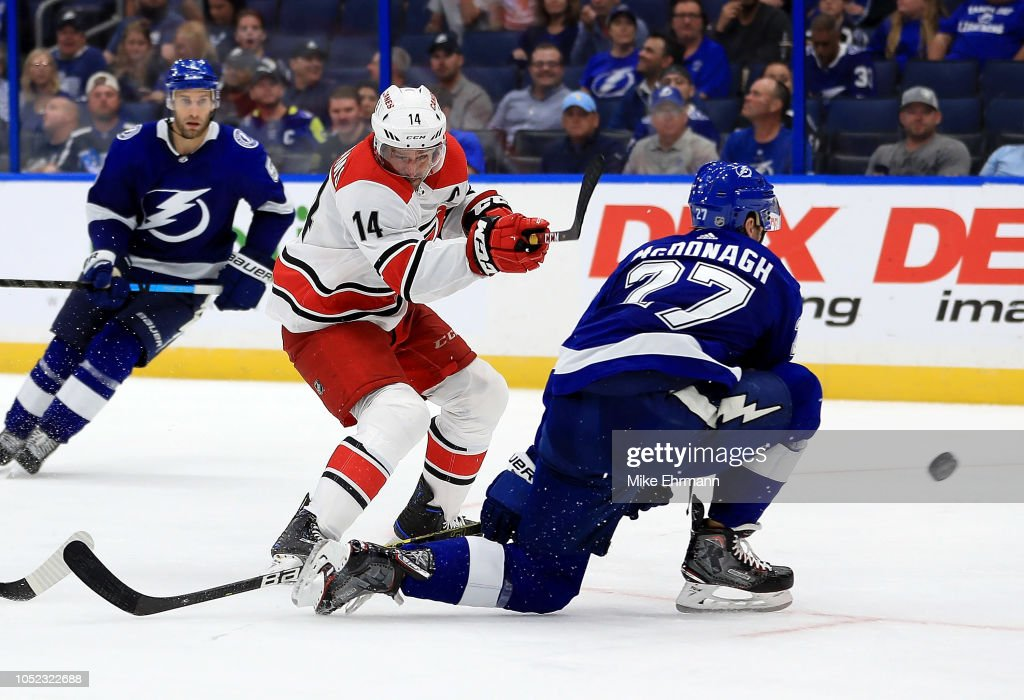 Carolina Hurricanes v Tampa Bay Lightning : News Photo