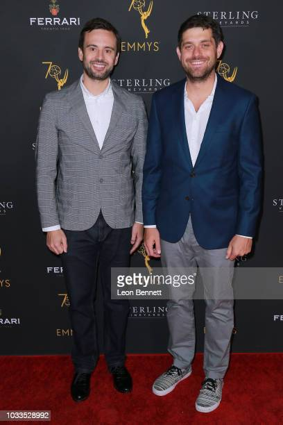 Ryan McKee and Adam Abramson attends the Television Academy Honors Emmy Nominated Producers at Montage Beverly Hills on September 14 2018 in Beverly...