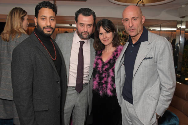 """GBR: Mark Strong Hosts Intimate Dinner To Celebrate """"Temple"""" Series 2 At Folie"""