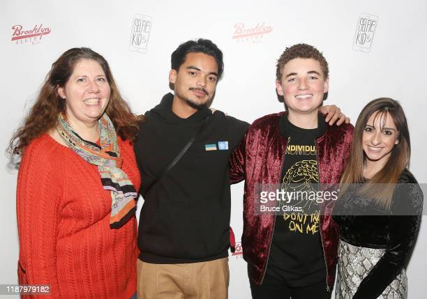 Ryan McKenna aka The Selfie Kid and his Brooklyn Cloth Team pose during a launch event promoting his Selfie Kid X Brooklyn Cloth Limited Edition...