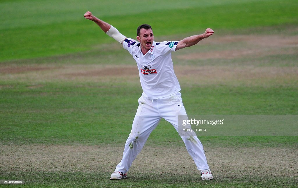 Somerset v Hampshire - County Championship Division One - Day Two
