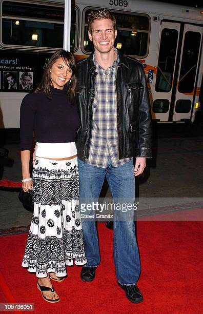 Ryan McPartlin and Danielle Kirlin during Miss Congeniality 2 Armed and Fabulous Los Angeles Premiere Arrivals at Grauman's Chinese Theatre in...